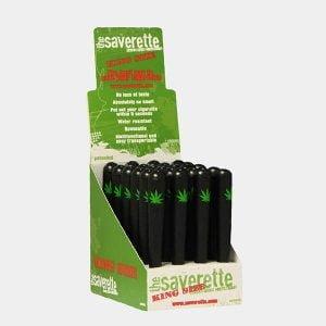 Saverette - Kingsize single weed leaf joint holders 110mm (24pcs/display)