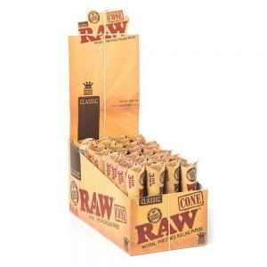 RAW Emperador slim cones (32packs/display) 3pcs per pack