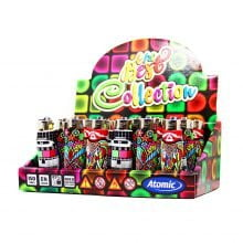 Atomic silicon cover 3D lighters crazy shapes (24pcs/display)