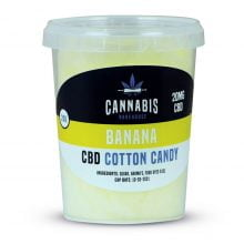 Cannabis Bakehouse CBD Cotton Candy Banana 20mg (20g)