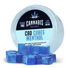 Cannabis Bakehouse CBD Cubes Menthol 5mg