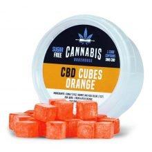 Cannabis Bakehouse CBD Cubes Orange 5mg
