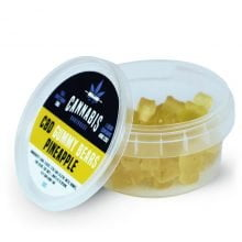 Cannabis Bakehouse CBD Gummy Bears Pineapple 4mg (30g)