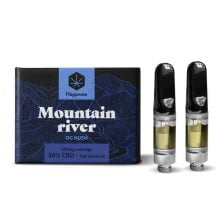 Happease® - Mountain River 50% CBD cartridge (2pcs/pack)