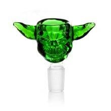 Alien Green Glass Bong Bowl 14mm