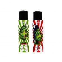 Clipper™ & Best Buds lighter with built-in grinder case 1 (22pcs/display)