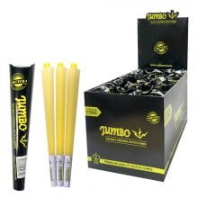 Jumbo King Size Black Cones 3 Cones Per Pack (24pcs/display)