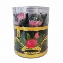 Cannabis Lollipops Bubblegum Flavour Giftbox (24box/display)