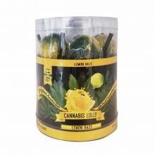 Cannabis Lollipops Lemon Haze Flavour Giftbox (24box/display)