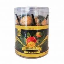 Cannabis Lollipops Mango Kush Flavour Giftbox (24box/display)