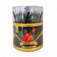 Cannabis Lollipops Strawberry Haze Flavour Giftbox (24box/display)