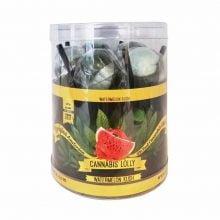Cannabis Lollipops Watermelon Kush Flavour Giftbox (24box/display)