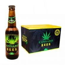 Cannabis Flavoured Beer Green Leaf 330ml - 4.5% Alc. (24bottles/box)