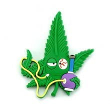 Hempy the Bongsmoker Silicon Cannabis 3D Magnet