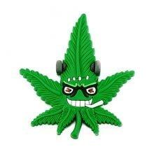 Hempy the Frankestein Silicon Cannabis 3D Magnet