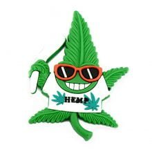 Hempy Party Stoner Silicon Cannabis 3D Magnet
