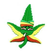 Hempy Rambo Stoned Silicon Cannabis 3D Magnet